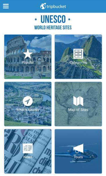 UNESCO aplikácia pamiatky