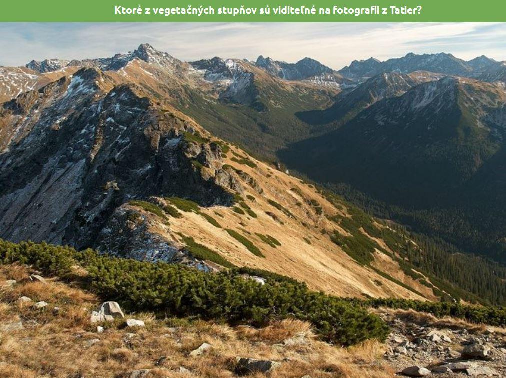 Rastlinstvo aživočíšstvo Slovenska (prezentácia preinteraktívne tabule)