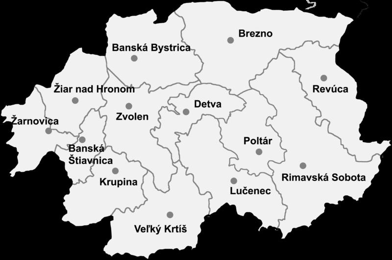 Banskobystrický kraj (kvíz)