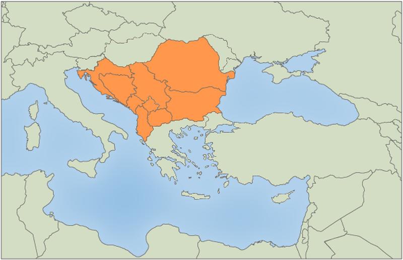 Juhovýchodná Európa (prezentácia)