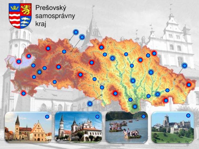 Prešovský kraj (mapová hra)