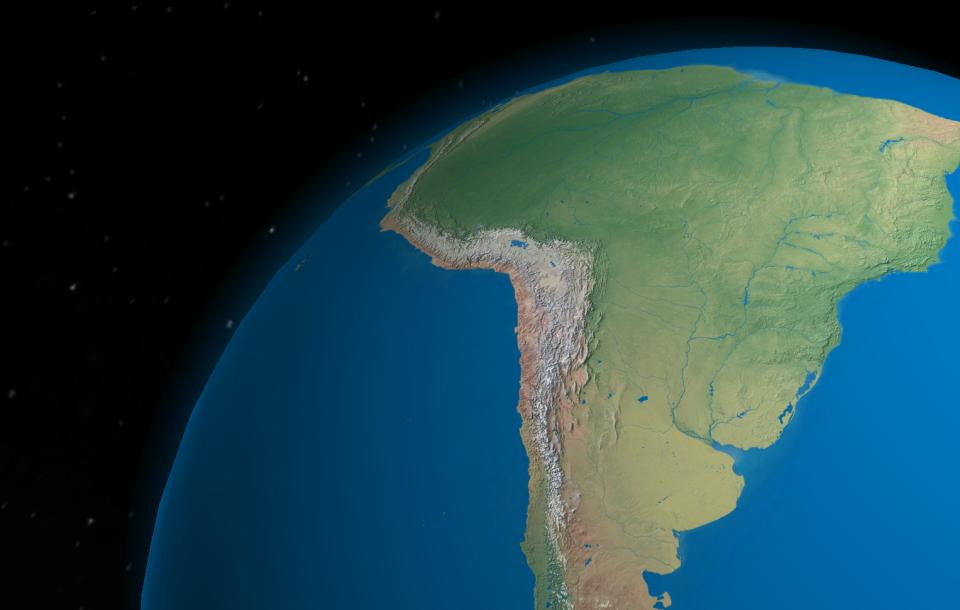 Prírodné pomery Ameriky (prezentácia)