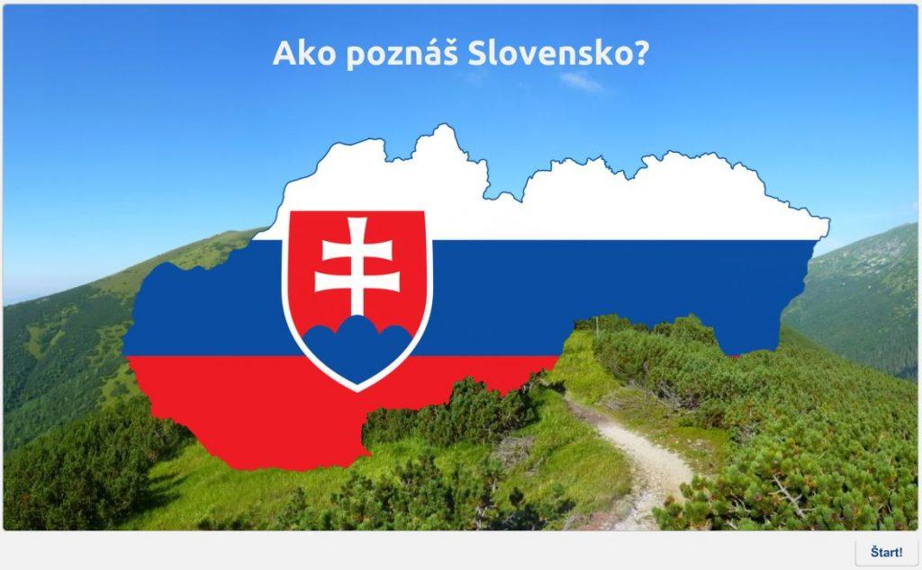 Ako poznáš Slovensko? Jednoduchý kvíz navlastivedu
