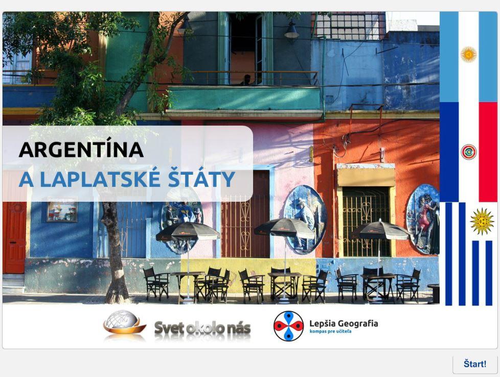 Argentína alaplatské štáty (kvíz)
