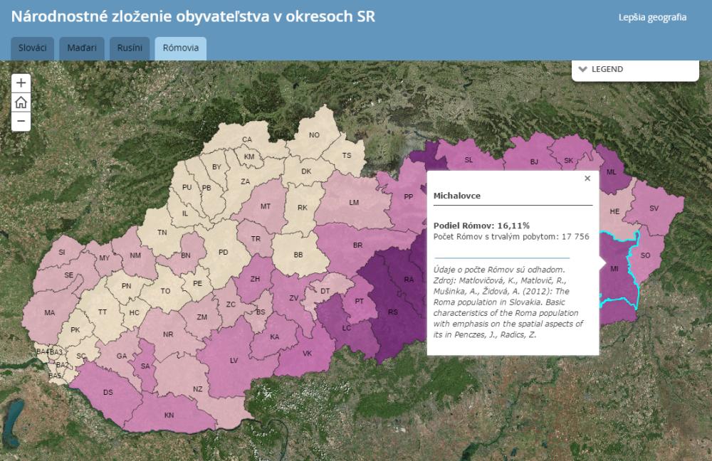 národnostné zloženie obyvateľstva Slovenska