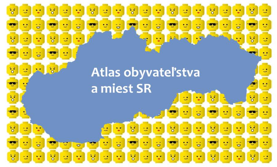 atlas obyvateľstva a miest Slovenska