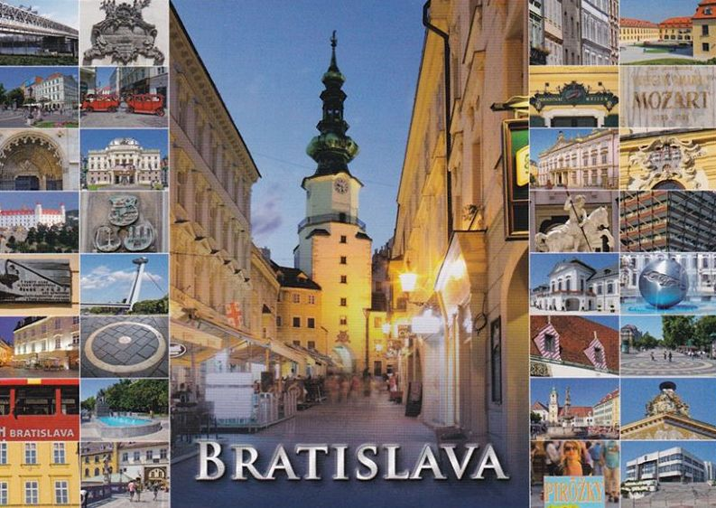 pohľadnica Bratislava