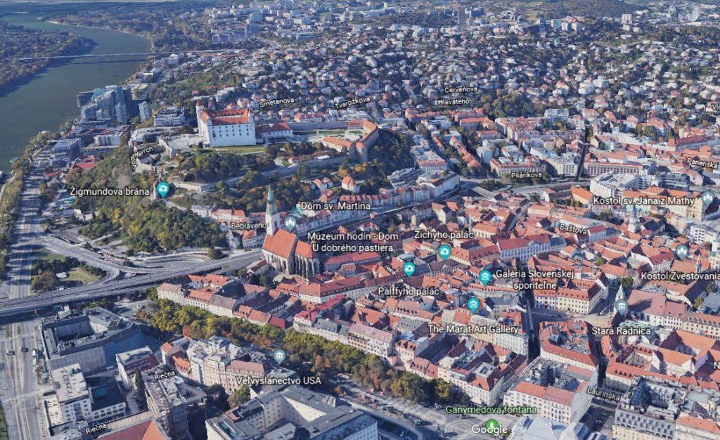 Bratislava Google Earth