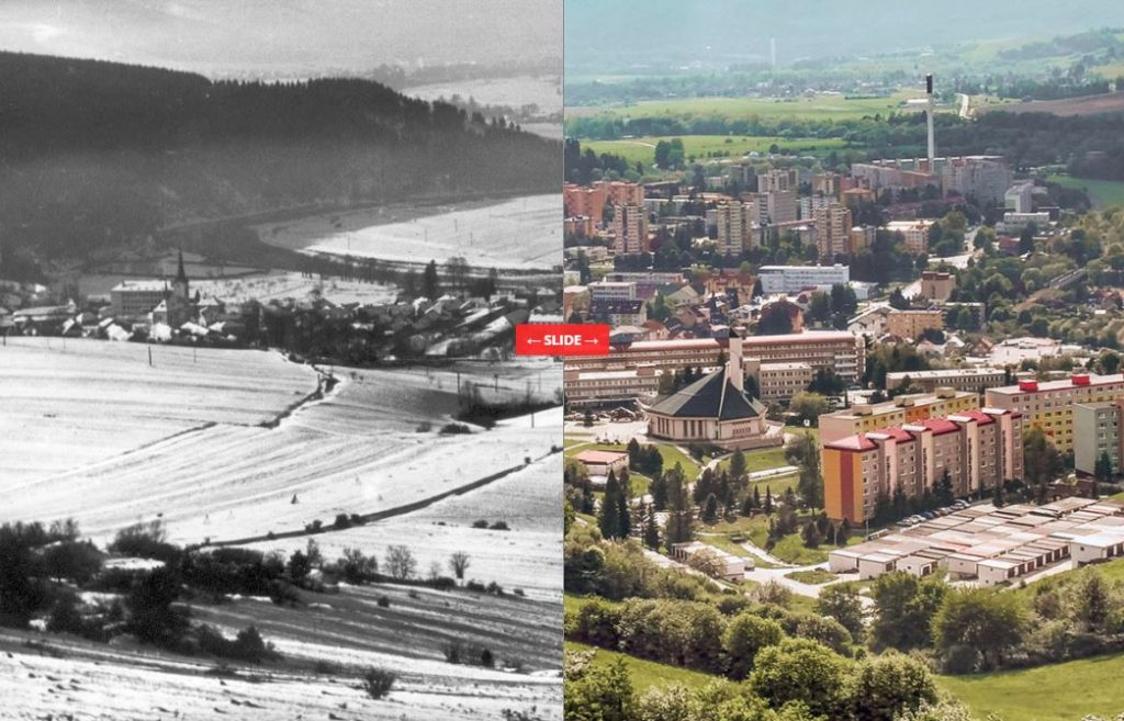 Pred a po porovnanie fotografií