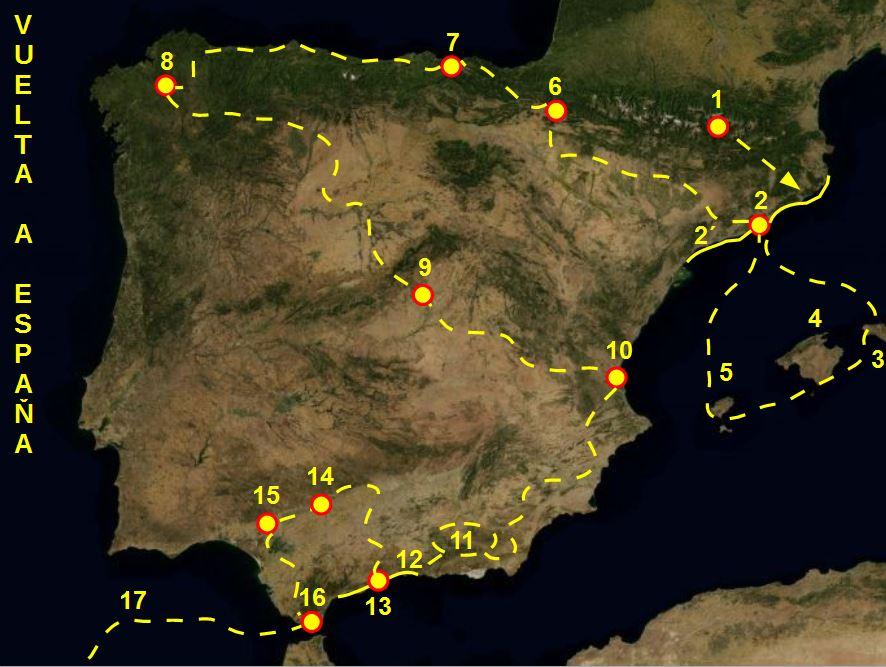 cesta po Španielsku hra