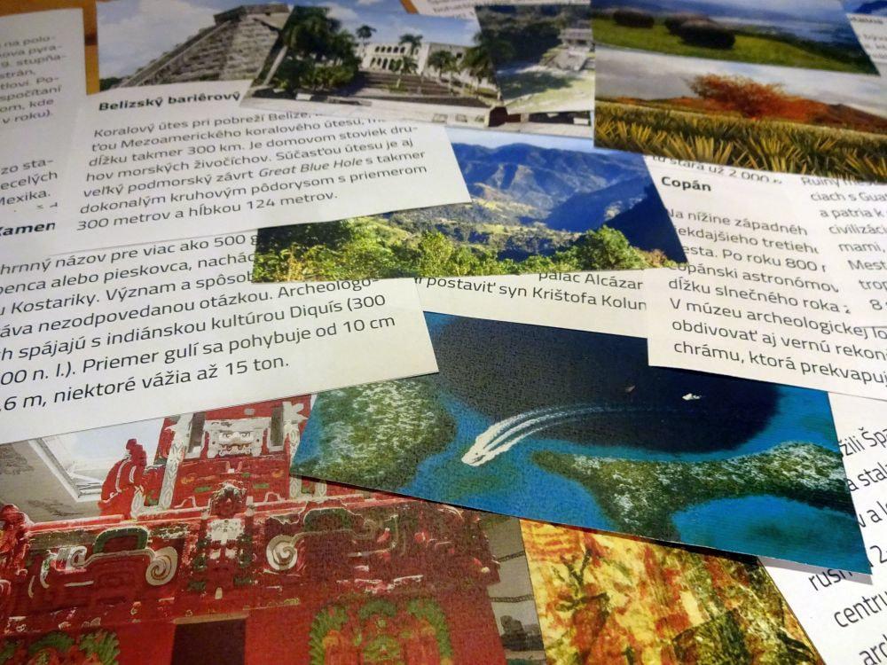 Výukové karty naprácu vskupine –Vybrané pamiatky UNESCO Strednej Ameriky aKaribskej oblasti