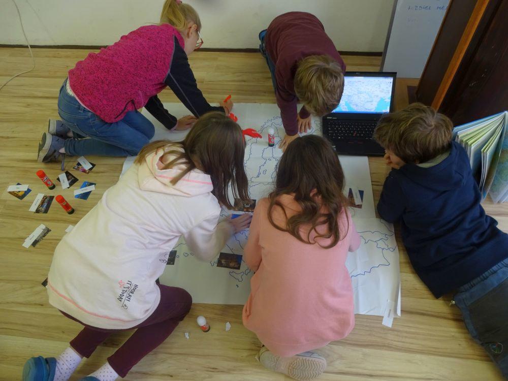 skupinové vyučovanie geografia