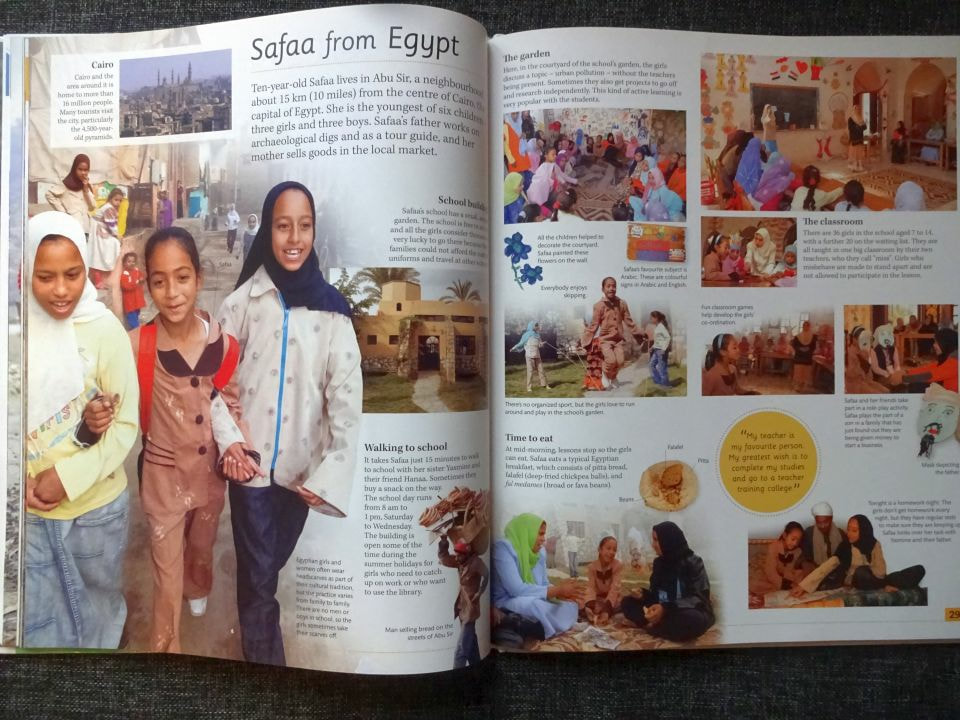 škola Egypt