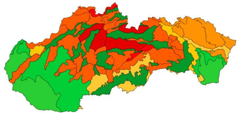 Geomorfologické členenie Slovenska (mapová hra)