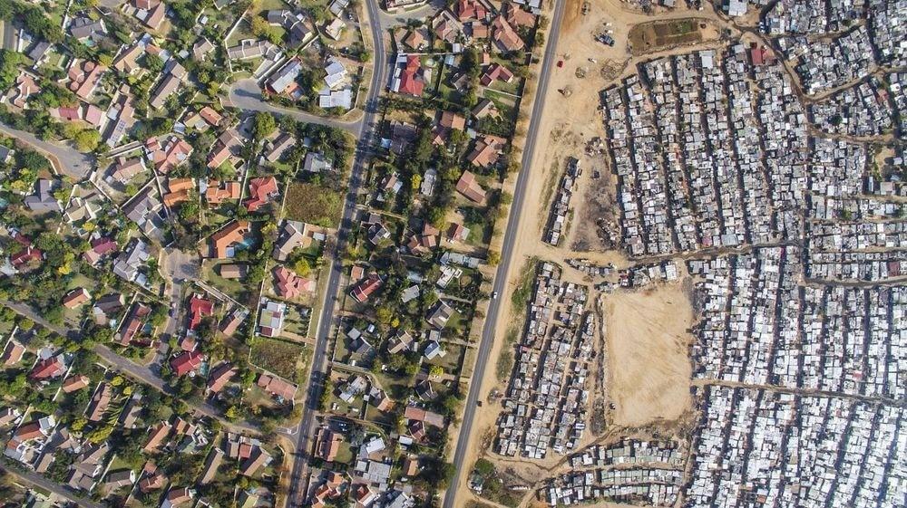 Kapské mesto satelitná snímka