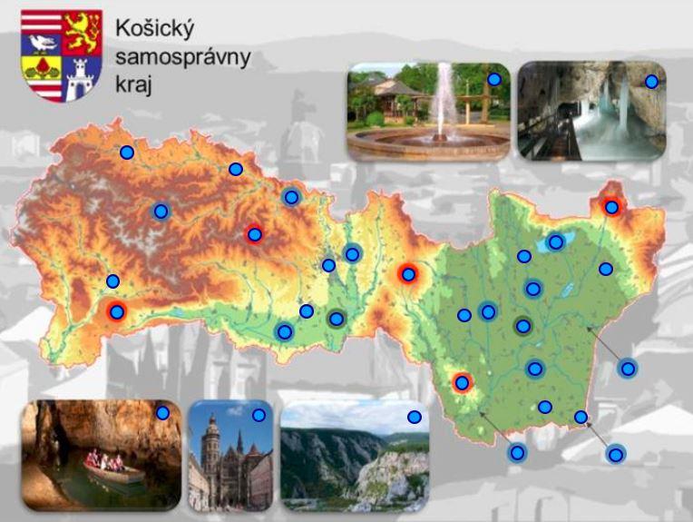Košický kraj (mapová hra)