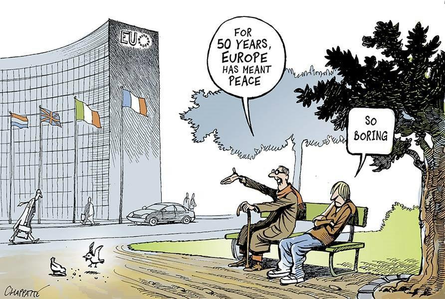 komiks výhody EÚ