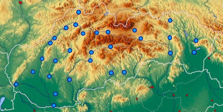 mestá slovenska hra