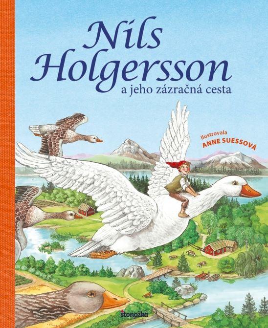 Svetoznáma detská kniha Zázračná cesta Nilsa Holgerssona vznikla akoučebnica vlastivedy oŠvédsku