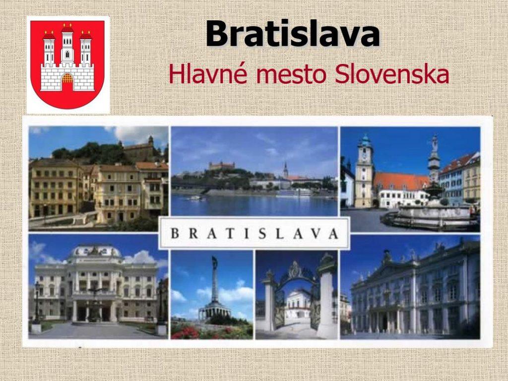 Bratislava –hlavné mesto SR (prezentácia)