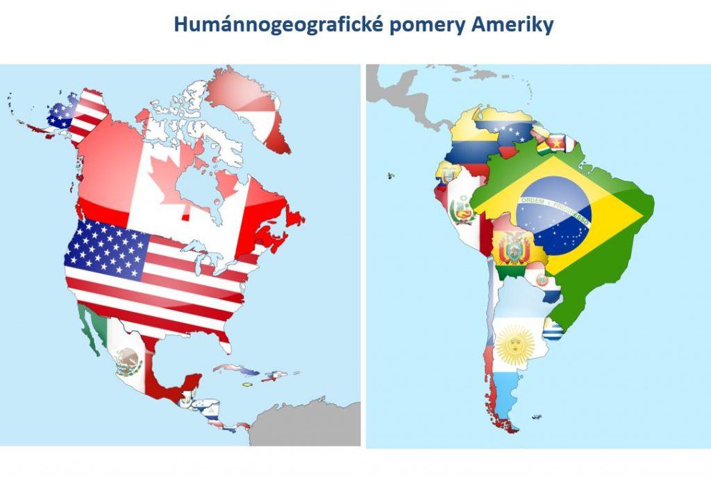 Humánna geografia Ameriky (prezentácia)