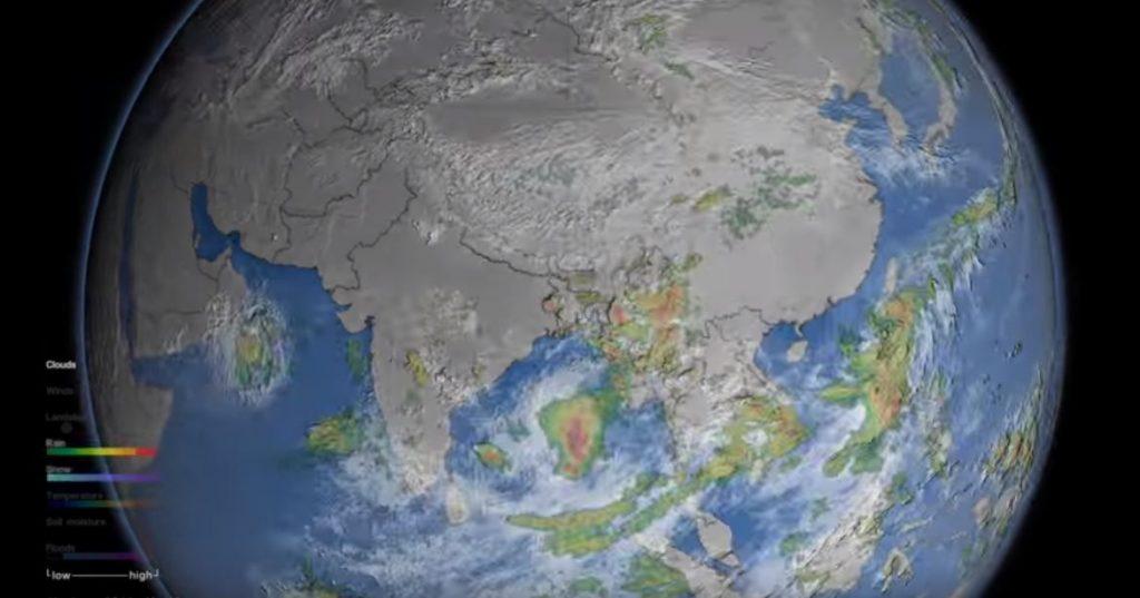 Ako vzniká monzún? Video odNASA vám toodborne vysvetlí