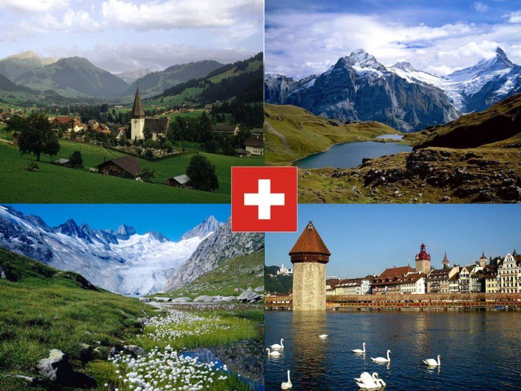 Švajčiarsko aLichtenštajnsko (prezentácia)
