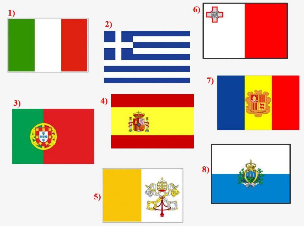 Južná Európa (otázky aúlohy predzačiatkom tematického celku)