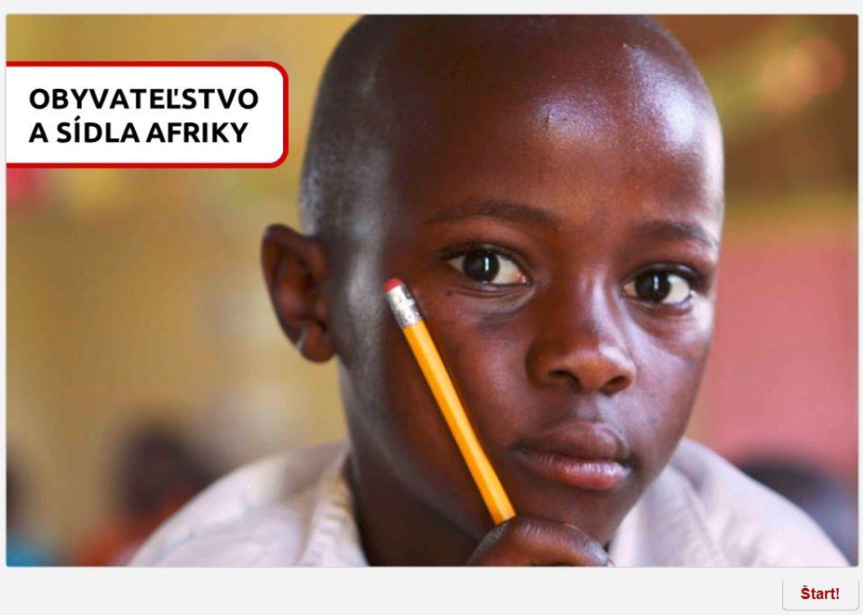 Obyvateľstvo asídla Afriky (kvíz)