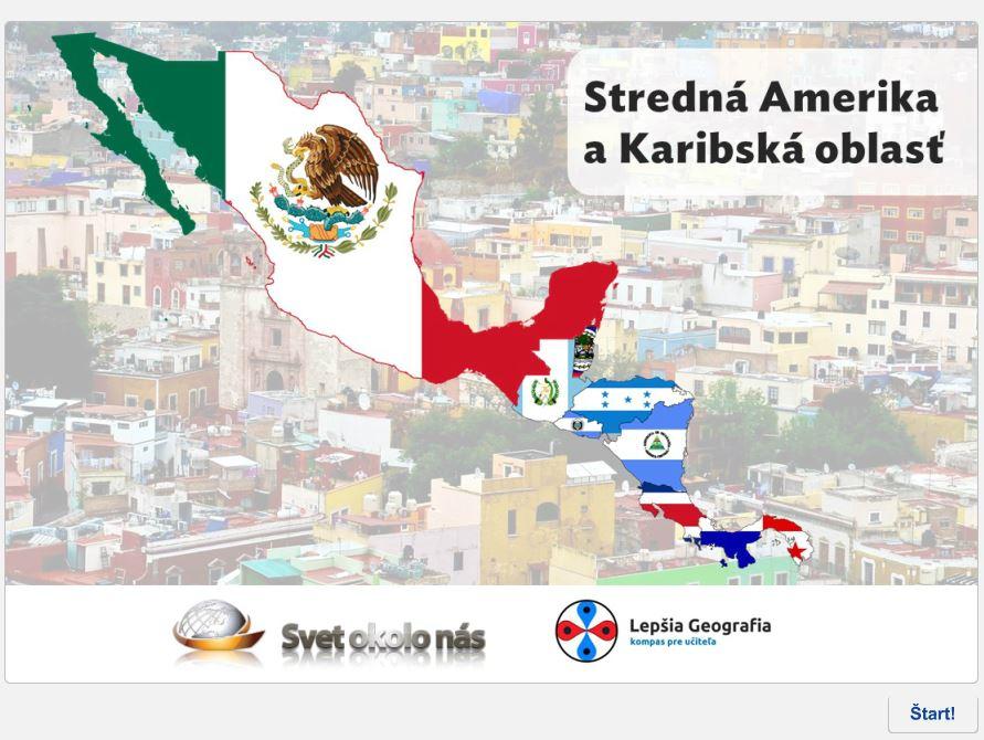 Stredná Amerika aKaribik (kvíz)