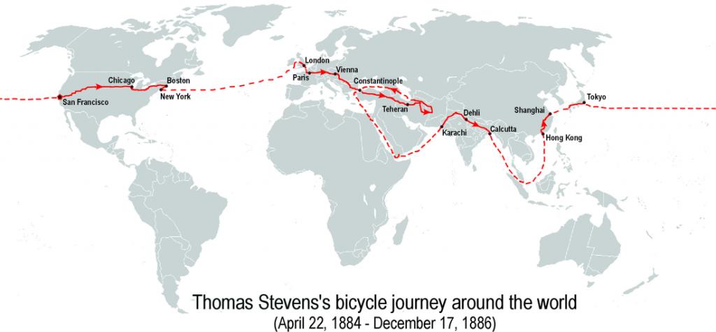 cesta okolo sveta na bicykli