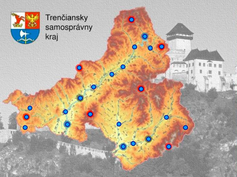 Trenčiansky kraj (mapová hra)