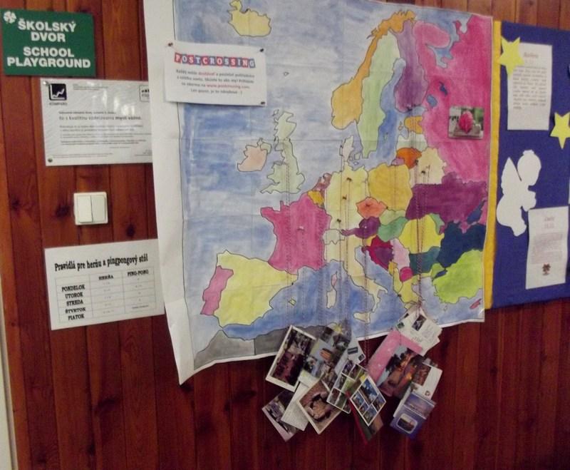pohľadnice z Európy