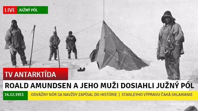 Amundsen Južný pól