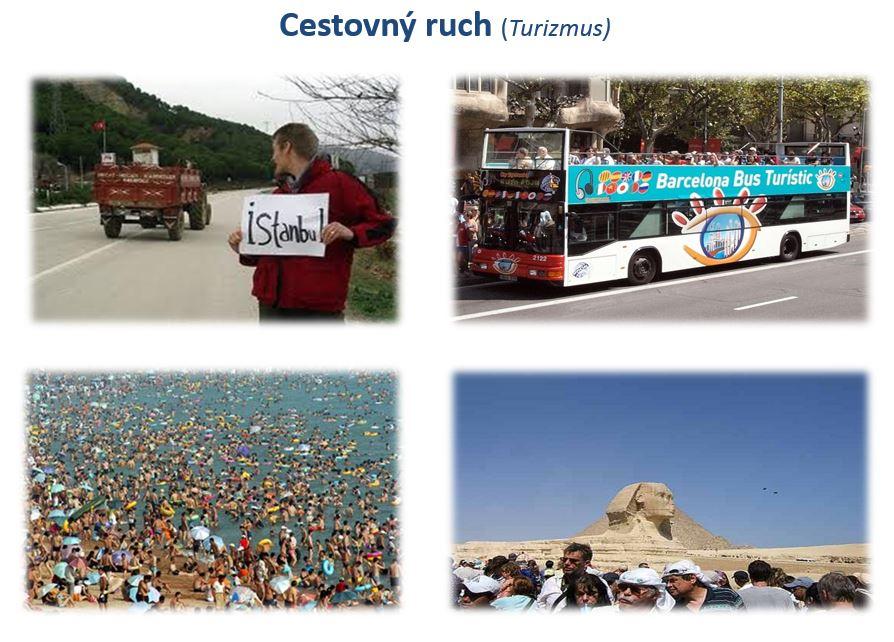cestovný ruch geografia
