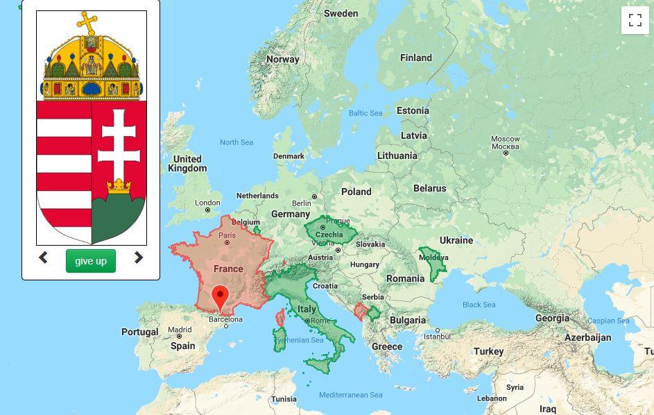 GeoPuzzle. Mapové hry akvízy, ktoré sú príjemnou kratochvíľou