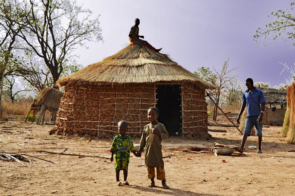 africká dedina