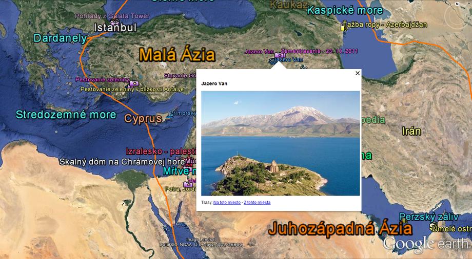 Google Earth v školskej geografii