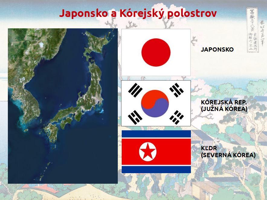 Japonsko aKórejský polostrov (prezentácia)