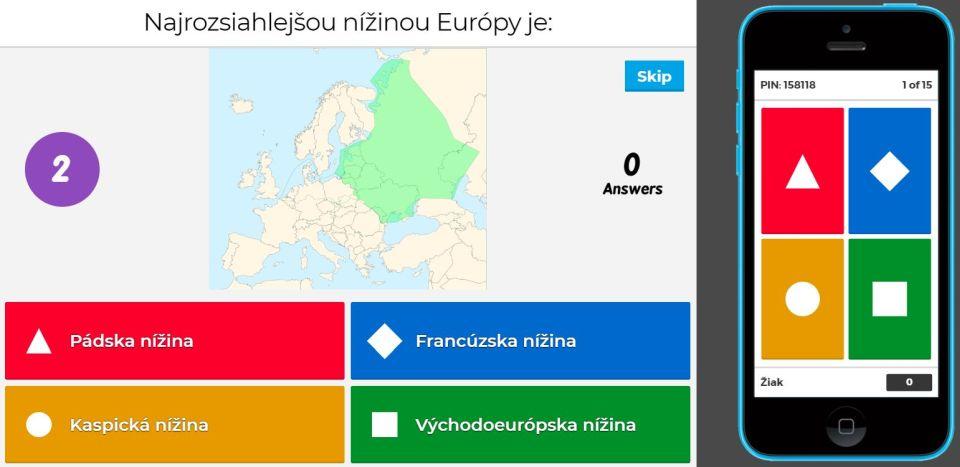 povrch Európy geografia