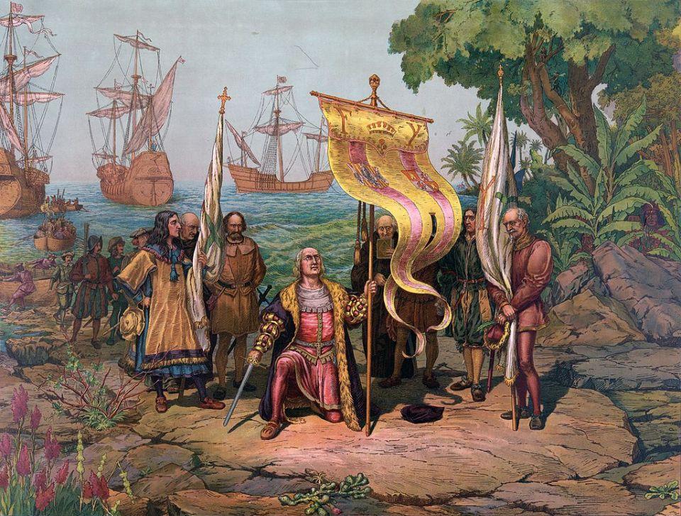 Krištof Kolumbus vylodenie
