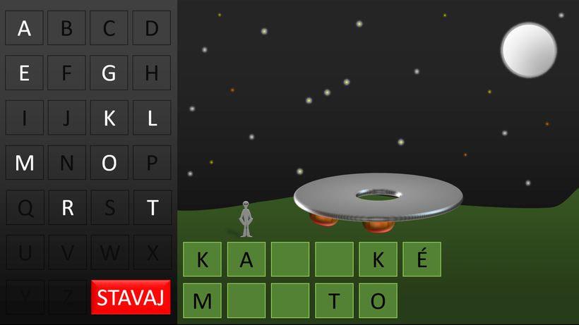 mimozemšťan hra