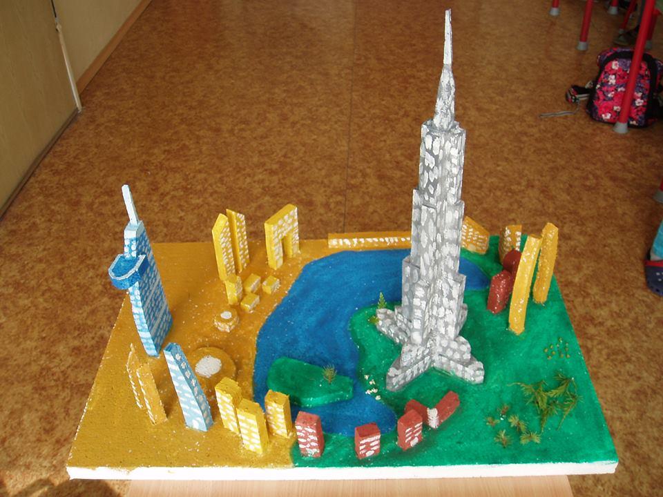 3D model projekt škola