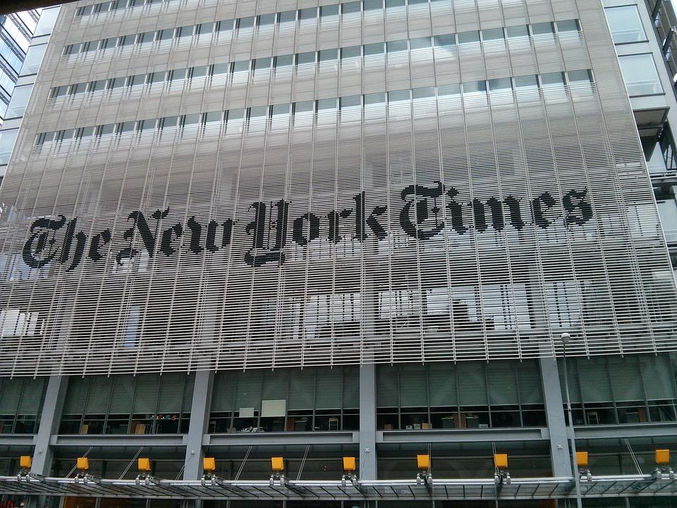 sídlo New York Times
