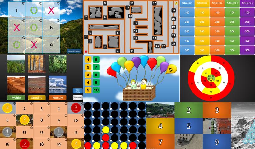 Ako tvoriť vzdelávacie hry vPowerPointe? Sošablónami je tohračka