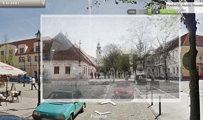 historické zmeny v meste