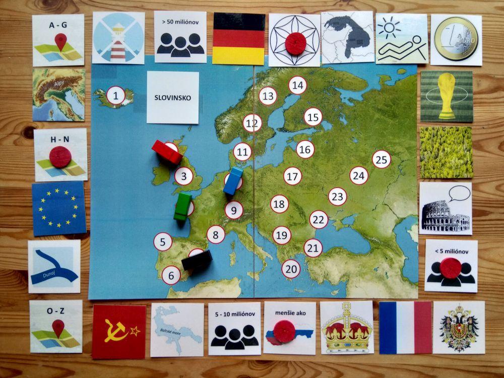 Tá naša Európa! Hra, sktorou je geografia zábavou