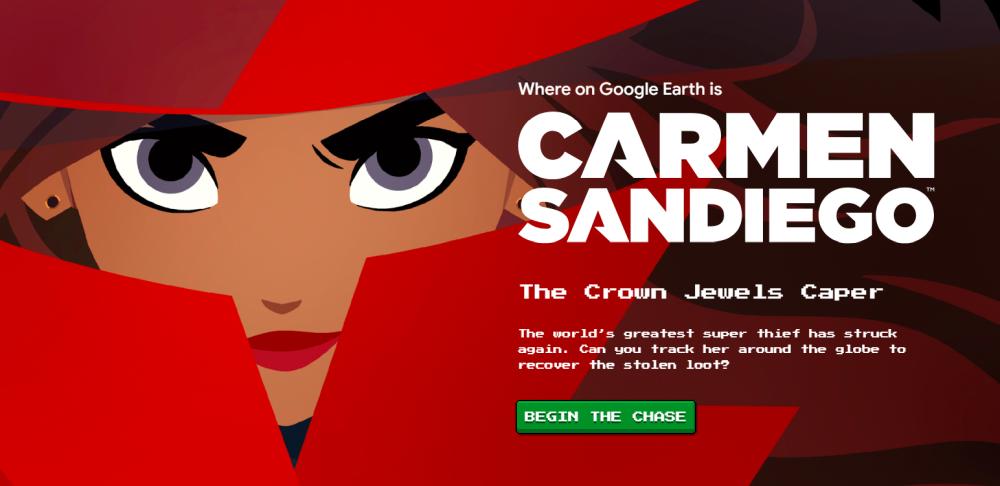 Kde je Carmen Sandiego? Pátracia hra vGoogle Earth vám priblíži známe miesta naZemi