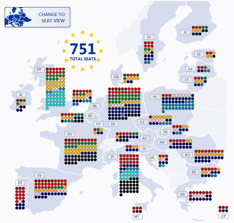 Ako dopadli európske voľby vovašej obci, naSlovensku avjednotlivých štátoch EÚ? Pozrite si mapy, vďaka ktorým budete vedieť všetko