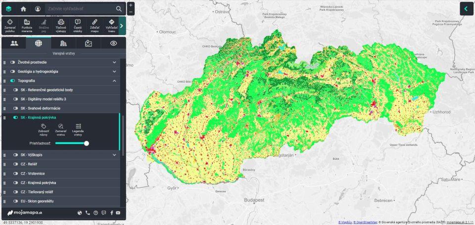 Takmer všetky mapy Slovenska najednom mieste. Mapový portál mojamapa.sk vás nadchne
